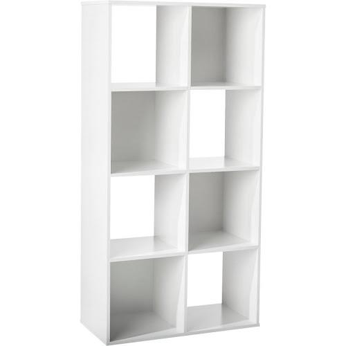 Room Essentials 8-Cube Organizer, White