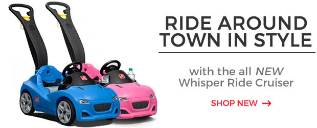 Ride Around Town In Style with the all NEW Whisper Ride Cruiser