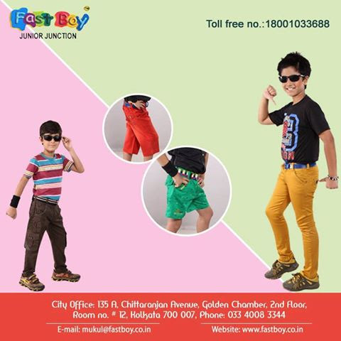 Fats Boys – One of the leading Manufacturers of Kid's Garments in India – Fastboy – Junior Junction