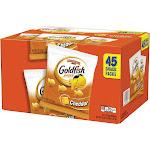 Pepperidge Farm Goldfish Cheddar - Cracker - 1 oz - pack of 45