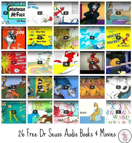 26 Free Dr Seuss Book Readings And Movies - Diary of a First Child