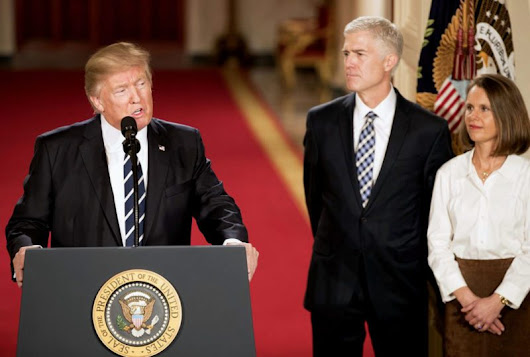 Neil Gorsuch and the case of the frozen trucker - NationofChange