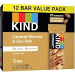 KIND Caramel Almond & Sea Salt Bars - 12ct