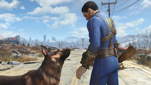 Fallout 4 brings you and your faithful dog to Boston