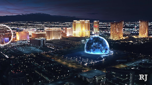 Work begins on 18,000-seat MSG Sphere at The Venetian