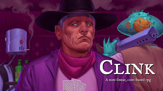 Clink: an RPG of Mysterious Drifters and Risky Coin Flips