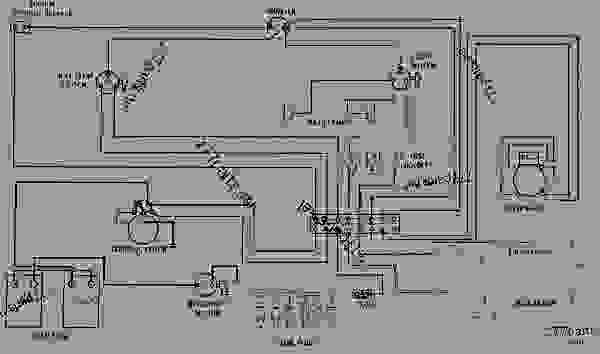 Wiring Diagram 24 Volt System Caterpillar Diesel Engine 777parts