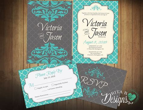 Wedding Invitation Response Card : Wedding Invitation