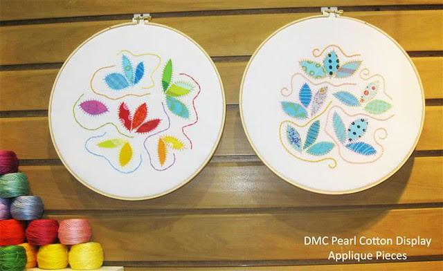 Pearl Cotton Appliqué pieces