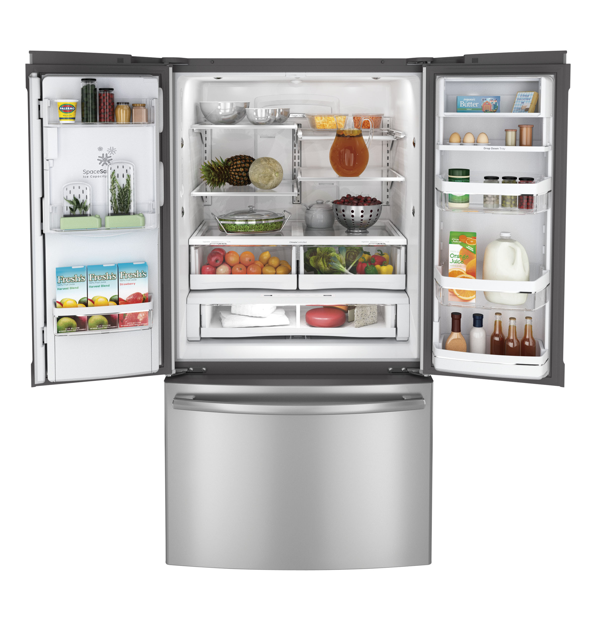 GE Profile™ Series 28 6 Cu Ft French Door Refrigerator
