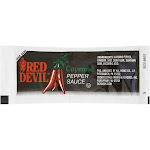 Red Devil Pepper Sauce, Single Serve,7 Gram -- 200 Case