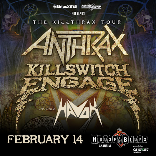 Anthrax & Killswitch Engage Prize Pack Giveaway