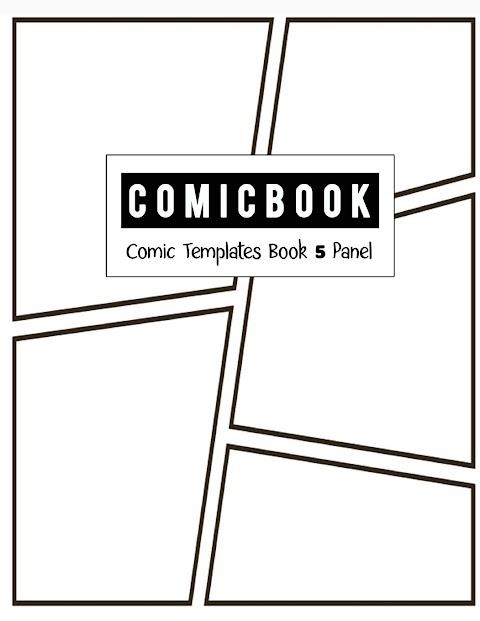 5 Panel Comic Strip Template