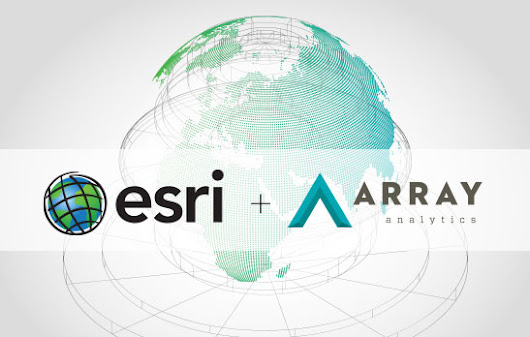 Array Architects Partners with Esri to Kick-start a Healthcare Geospatial Startup | Array Architects