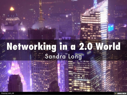 Networking in a 2.0 World