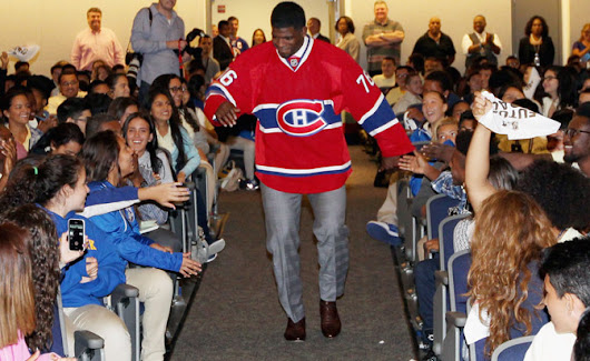 P.K. Subban of Montreal Canadiens makes $10 million hospital donation