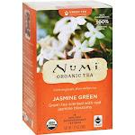 Numi Organic Jasmine Green Tea - 18 bags, 1.27 oz box