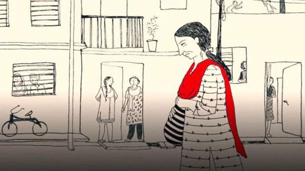 Geeta virou alvo de comentários após vídeo ser divulgado (Foto: BBC)