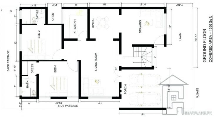 House  Plan  Drawing  Free download on ClipArtMag