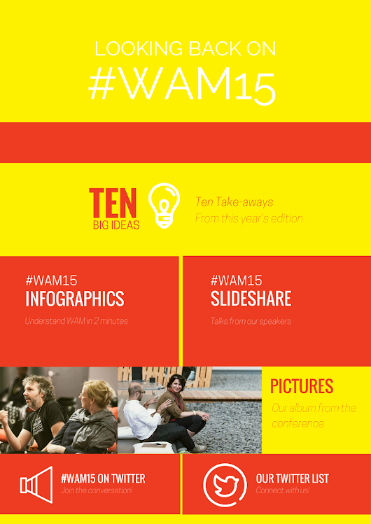 Looking back on #WAM15 «  We Are Museums 2015