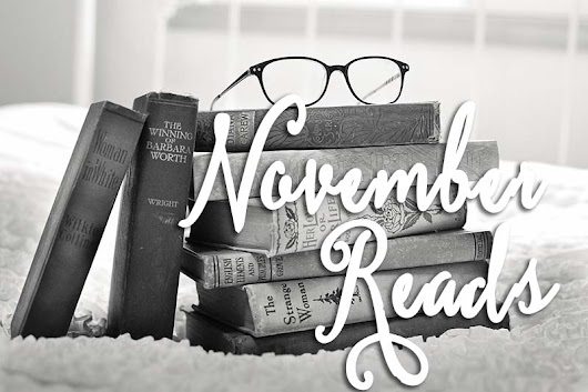 November Reads - The House of Plaidfuzz