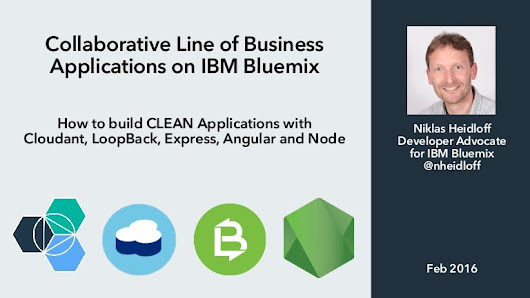 Collaborative Line of Business Applications on IBM Bluemix
