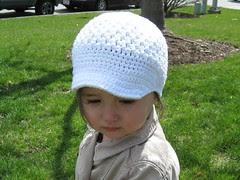 newsboy cap front