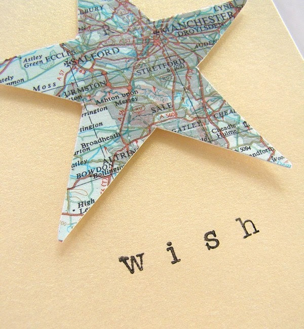 Wish star card