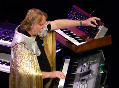 1970s synthesizer prog rock wizard | Tacky Harper's Cryptic Clues
