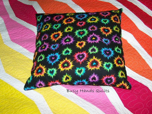 Bright Hearts Pillow Cover