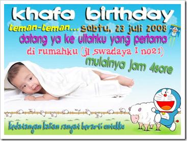 contoh surat undangan ulang tahun yang menggunakan bahasa