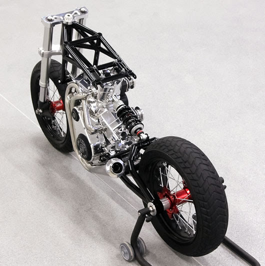 JJ2S X4 500cc 4 cylinder 2 stroke concept from Poland