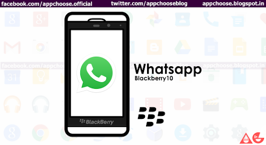 Whatsapp: Blackberry 10 !