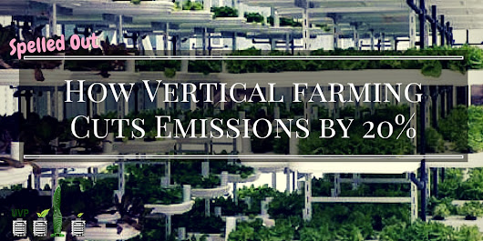Vertical Farming Could Cut 20% of Global Emissions