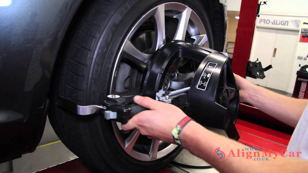 What Is A Hunter Wheel Alignment Youtube