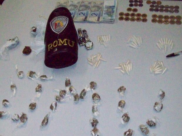 Romu Sorocaba / Comerciante é suspeito de vender drogas em bar de Sorocaba, SP