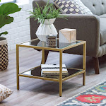 Belham Living Lamont Bunching Coffee Table - Gold, Size: Small