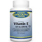 Vitamin E 200 I.U. by Vitamin Discount Center 100 Softgels