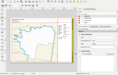 QGIS Layout and Reporting Engine Campaign – North Road