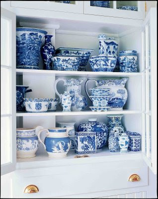 If blue and white is your colour   Around My Table