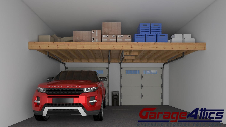 nice-garage: Garage Storage Ideas | Custom Overhead Storage Lofts