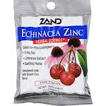 ZAND Herbalozenge Lozenges, Echinacea Zinc, Natural Cherry Flavor - 15 lozenges