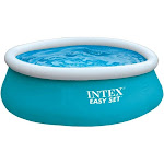 Intex 28101eh Easy Set Inflatable Swimming Pool, 6' X 20""