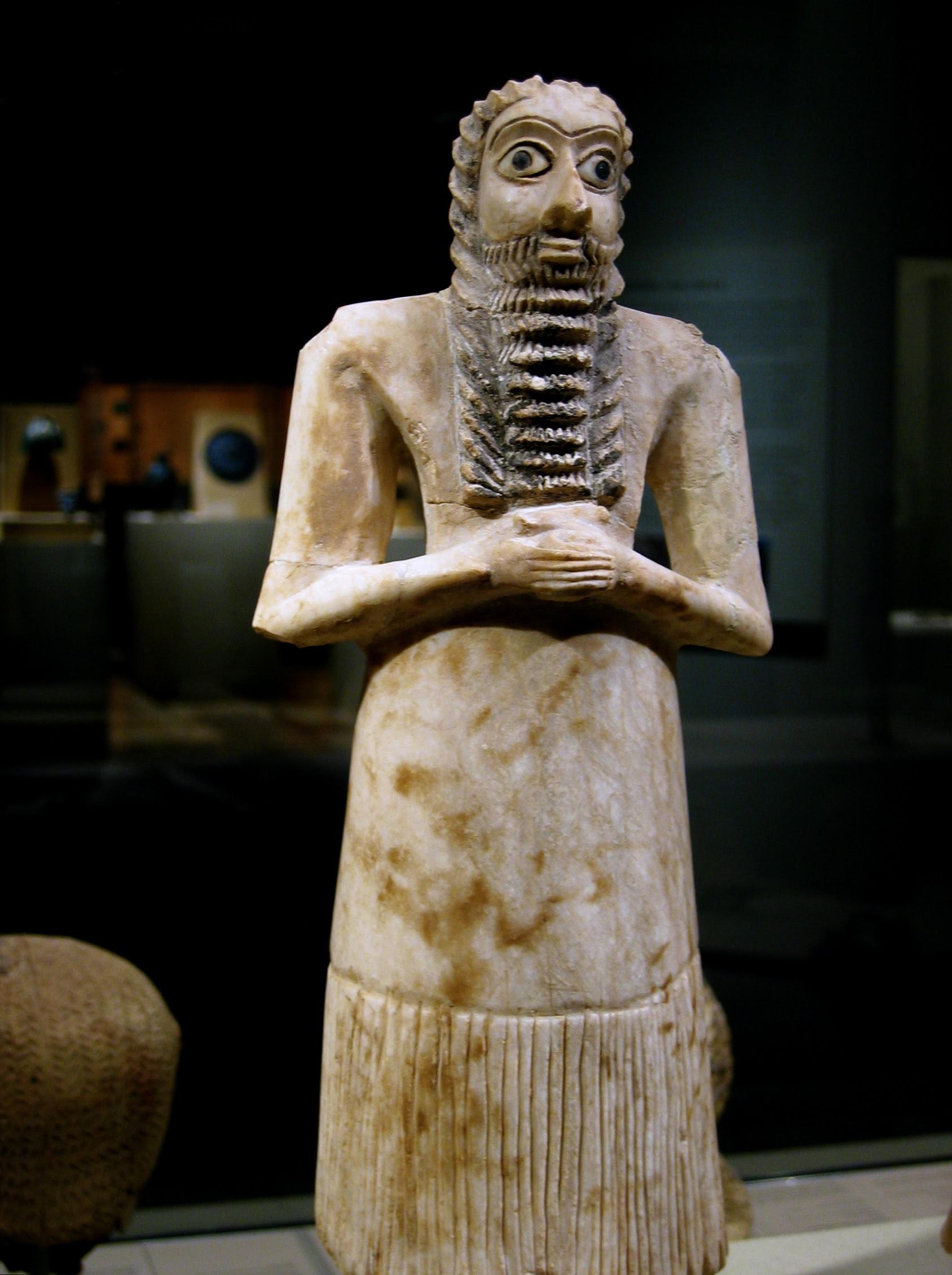 Escultura votiva de Tell Asmar (2750-2600)