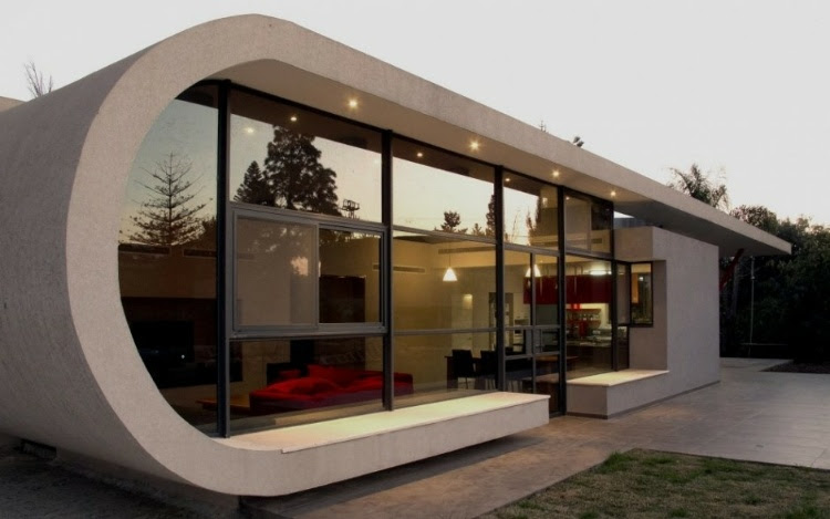 home 49 The Beam House by Uri Cohen Architects