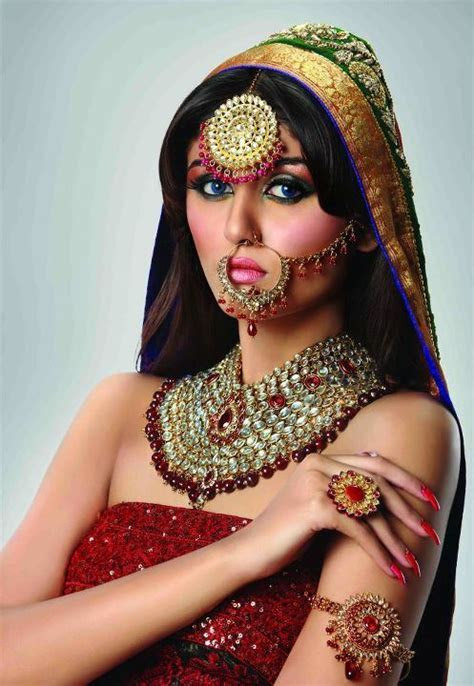 Pakistani Bridal Nose Pin Jhumar Designs Collection