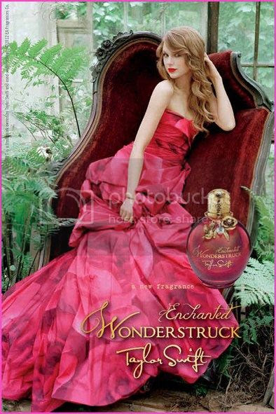 Taylor Swift Wonderstruck Enchanted Ad Campaign