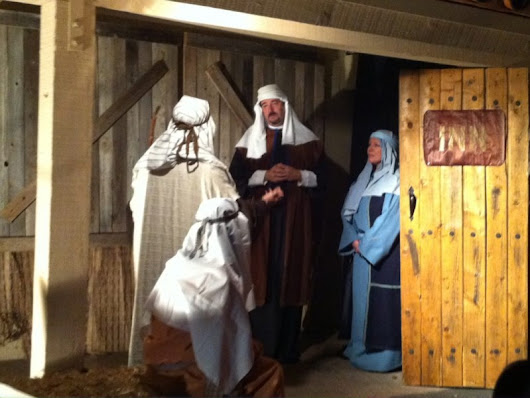 Live Nativity at Mount of Olives Church in Mission Viejo
