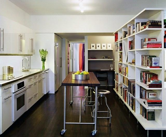 kücheninsel auf rollen form und funktion