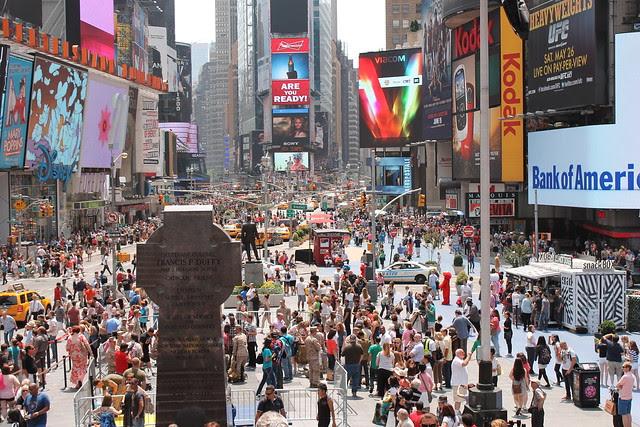 Duffy Memorial, Times Square